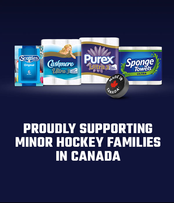 Proudly supporting minor hockey families in Canada